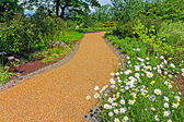 Garden landscaping — Stockfoto