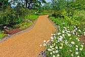 Garten landschaftsbau — Stockfoto