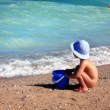 child at beach — Stock Photo