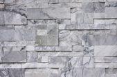 Contemporary marble brick wall — Stock Photo