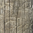 Old wooden damaged surface — Stockfoto