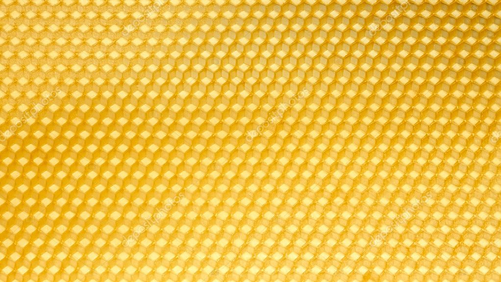 Wax template for honeycomb as a periodic structure — ストック写真 #11424974