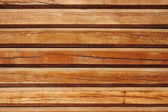 Old parallel wooden logs — Stock Photo