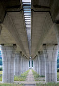 Ahigh way bridge — Stock Photo