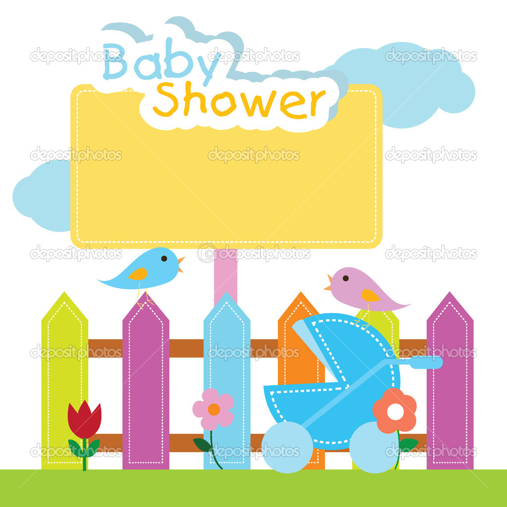 baby shower background stock vector glossygirl21 11016276