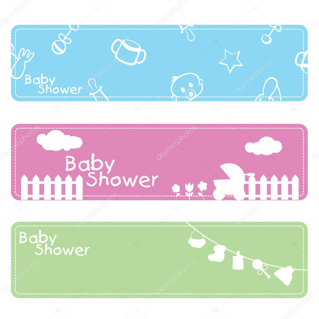 baby shower background stock vector glossygirl21 11016285