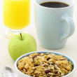 Stock Photo: Delicious fresh breakfast