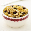 Delicious and healthy granola — Stock Photo