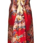 Stylish dress on mannequin isolated on white — Stock Photo #11821178