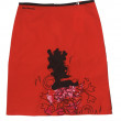 Red skirt — Stock Photo #11822253