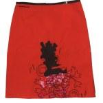 Red skirt — Stock Photo