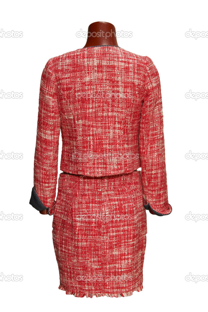 Red costume — Stock Photo #11821747