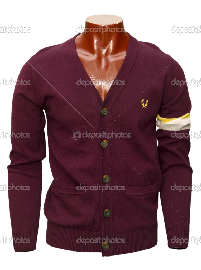 Male cardigan — Stock Photo #11821953