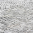 Stock Photo: Paving stones texture round