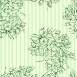 απρόσκοπτη υπόβαθρο με λουλούδι — Φωτογραφία Αρχείου