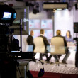 Foto Stock: TV studio