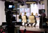 TV studio — Stock Photo