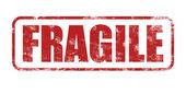 Fragile stamp — Stock Photo