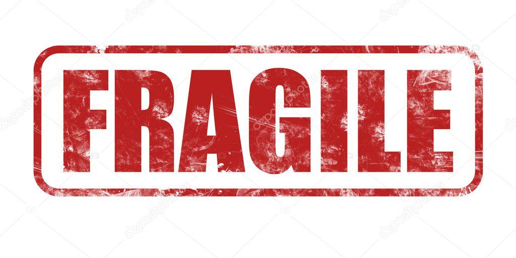 Fragile stamp — Stock Photo © Rangizzz #11819964