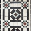 Stock Photo: Victoristyle floor tile pattern