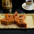 Stock Photo: Oriental sweets baklava