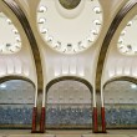 ������, ������: Metro station Mayakovskaya in Moscow
