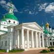 Dimitrievsky Cathedral and Zachatievsky Cathedral in Rostov — Stock Photo #11536552