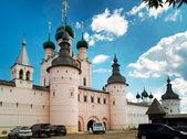 Kremlin van oude stad van rostov de grote, rusland — Stockfoto