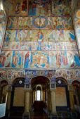 Kerk van st. Johannes de evangelist in kremlin van rostov — Stockfoto