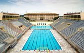 Sports swimming pool in Moscow — Stock Photo