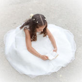 First communion or confirmation — Stock Photo