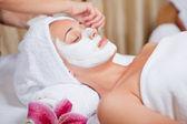 皮肤护理 — 图库照片
