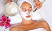 Mascarilla facial spa — Foto de Stock