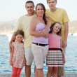 Stock Photo: Summer holiday family