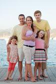 Summer holiday family — Stock Photo