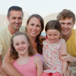 Happy extended family — Foto Stock