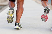 Jogging or running — Stockfoto