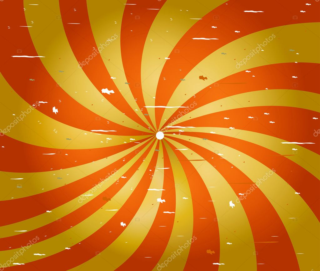 Red and yellow spiral stripes background stock vector 169 mapichai