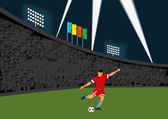 Football — Vector de stock