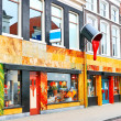 Store of paint and varnish products in Gorinchem, Netherlands — Stock Photo #11391219