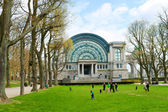 Spring jubelpark in brussels, belgium — Stock Photo