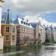 Binnenhof Palace in Den Haag, Netherlands. Dutch Parlament build - Stock Photo