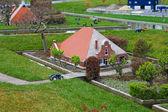 Madurodam - miniature city near Hague in Netherlands. — Stock Photo