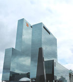 A large modern office building in Rotterdam. Netherlands — Stock Photo