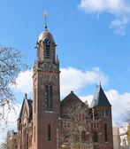 Building of Remonstrant church in Rotterdam, Netherlands — Stock Photo
