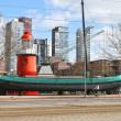 Port -  museum in Rotterdam. Netherlands - Stock Photo