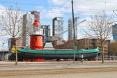 Port - museum in Rotterdam. Netherlands — Stock Photo