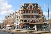 ROTTERDAM, NETHERLANDS – APRIL 1: The city street on 01.04.201 — Stockfoto
