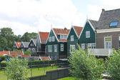 マルケン島の住宅。オランダ — ストック写真
