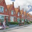 In courtyard of typical Dutch house. Netherlands — Stock Photo #12155465